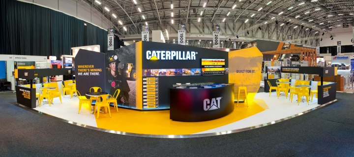 187 Caterpillar Booth At Mining Indaba 2014 By Hott3d Cape