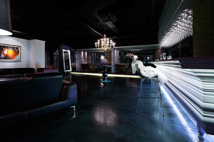 designer regal sendai crystal toyo ito, charles house club by m4, seoul – south korea, Möbel ideen