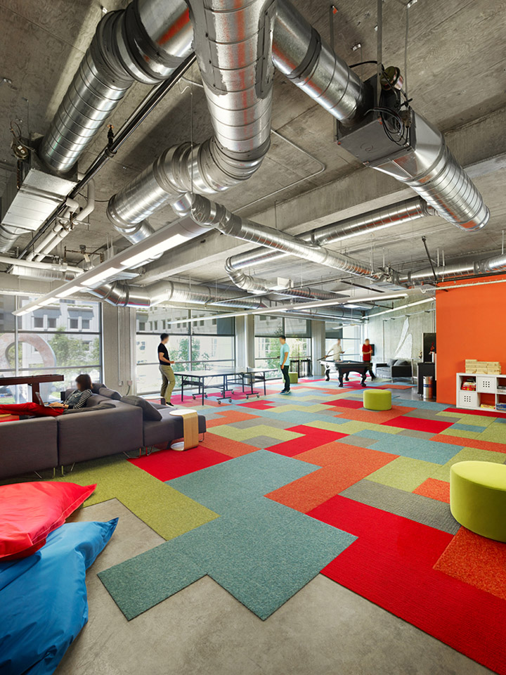 Chartboost office by min day san francisco california for Office design game
