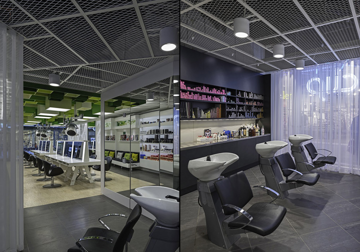 Clip Drop In Hair Salon By Sweco Architects Umeå Sweden