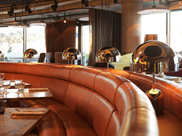 Retail design — Éclectic restaurant by tom dixon