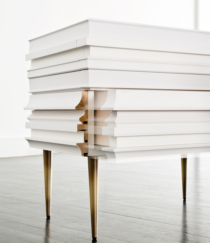 Frame Collection nightstand by Luis Pons Design Lab Retail