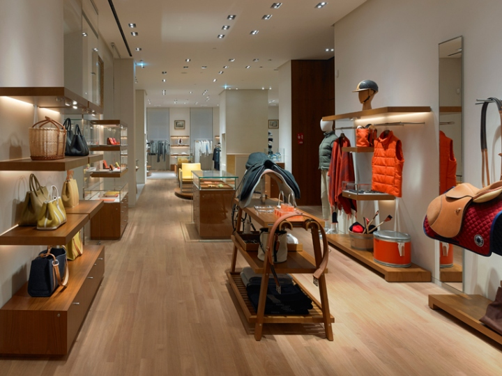Herm s flagship store milan italy retail design blog for Hermkes interieur