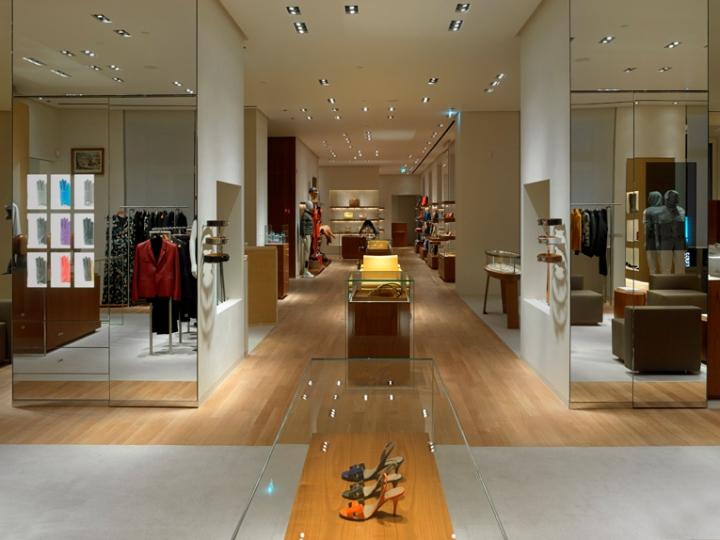 herm s flagship store milan italy retail design blog