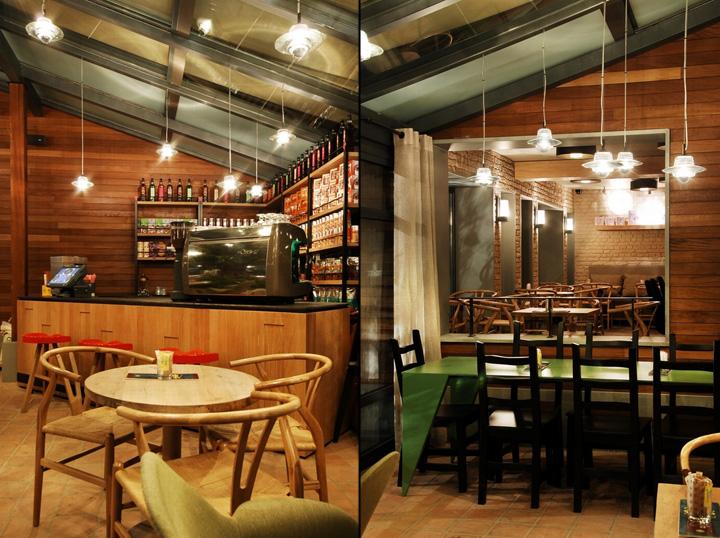 Kahve Dnyas Fabrika Caf By Toner Architects Istanbul