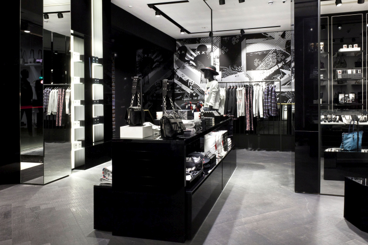 karl lagerfeld store by plajer franz studio vizona. Black Bedroom Furniture Sets. Home Design Ideas
