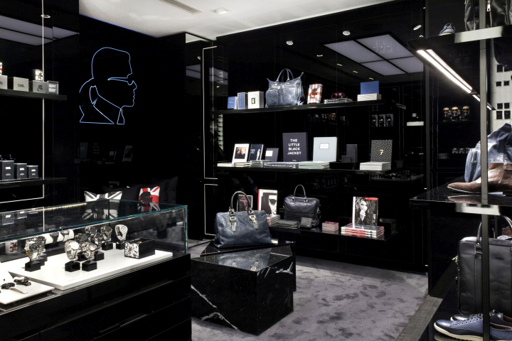 karl lagerfeld store by plajer franz studio vizona. Black Bedroom Furniture Sets. Home Design Ideas