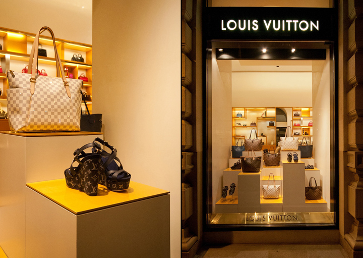 05d3fa764fef Louis Vuitton windows 2014 Spring, Budapest