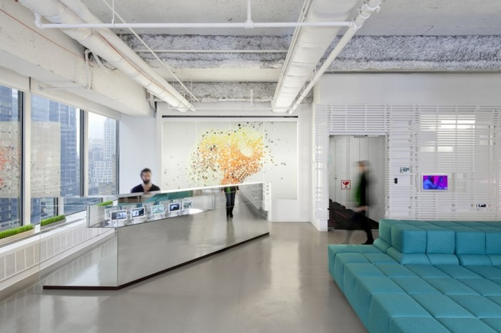 Architecture bureau new york first well certified office space