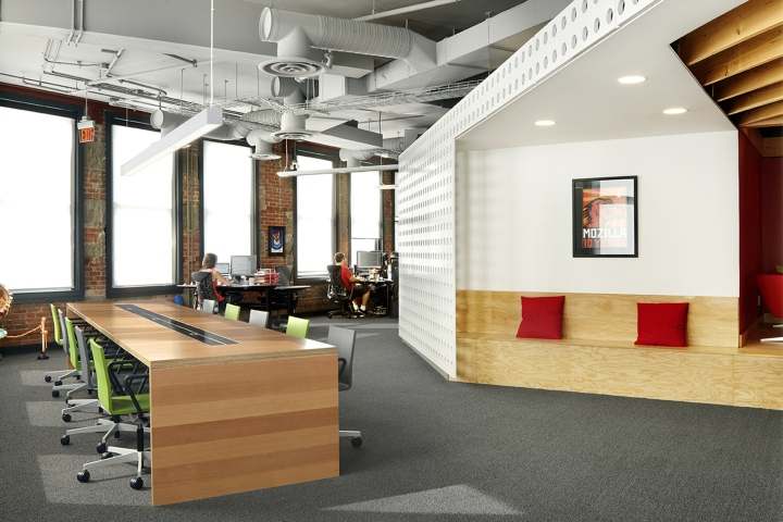mozilla yvr office by hughes condon marler architects