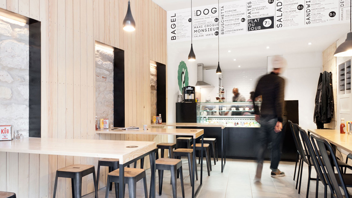o petit en k street food restaurant by hekla bordeaux france retail design blog. Black Bedroom Furniture Sets. Home Design Ideas