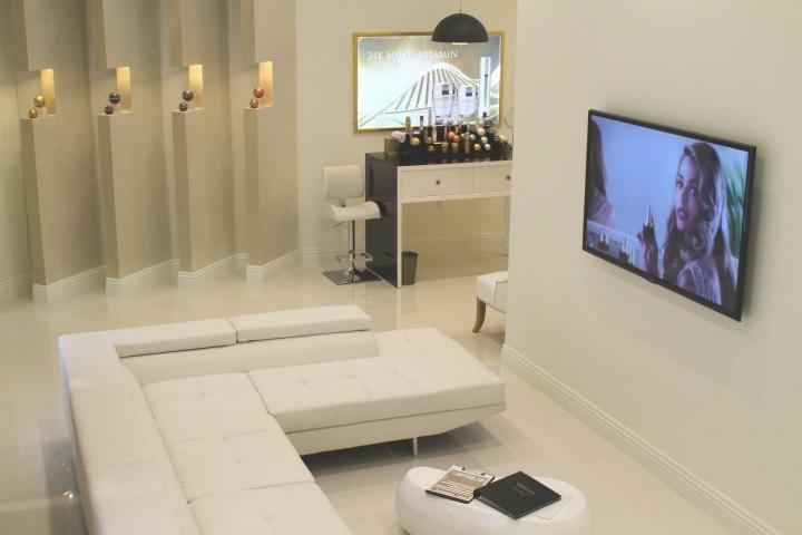 Orogold cosmetic store by Viktoriya Devicheva, Glendale u2013 California u00bb Retail Design Blog