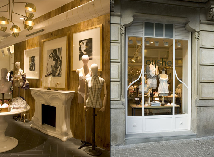 8628d0eeb3e40 Oysho lingerie store by Lazaro Rosa Violan Barcelona Spain 04