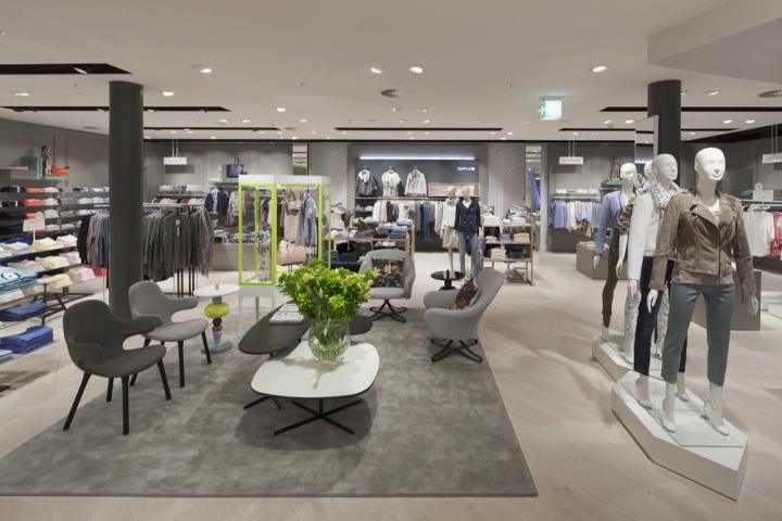 PKZ Women Flagship Store By Schweitzer Group Zurich Switzerland