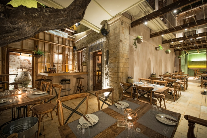 Peskesi restaurant by manousos leontarakis associates for Design hotel crete