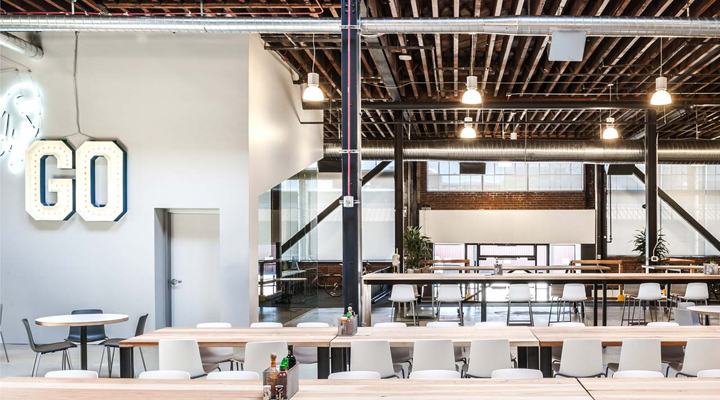 Pinterest headquarters by all of the above first office for Office design on pinterest