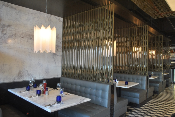 Pizzaexpress Restaurant Mumbai India 187 Retail Design Blog