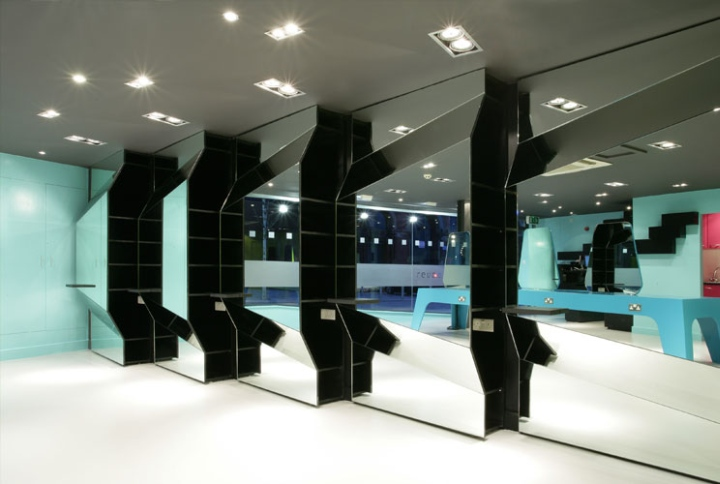 Hair salons reuben wood hair salon by peter masters for Beauty salons in manchester