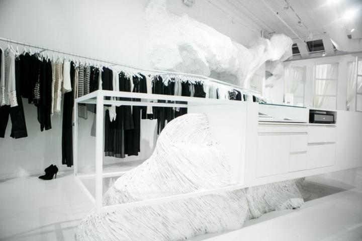 Sass Amp Bide Flagship Store By Akin Creative New York City