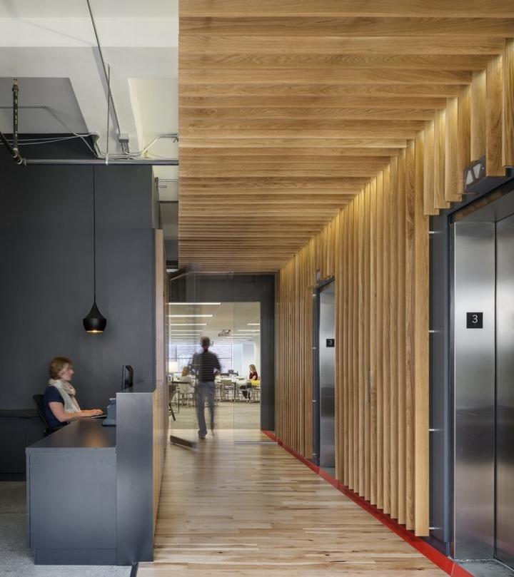 Synapse Office By Gensler Seattle Washington Retail