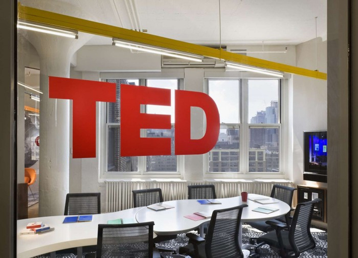 TED Conferences office by Tina Manis Associates Newy York City 03 TED Conferences office by Tina Manis Associates, New York City