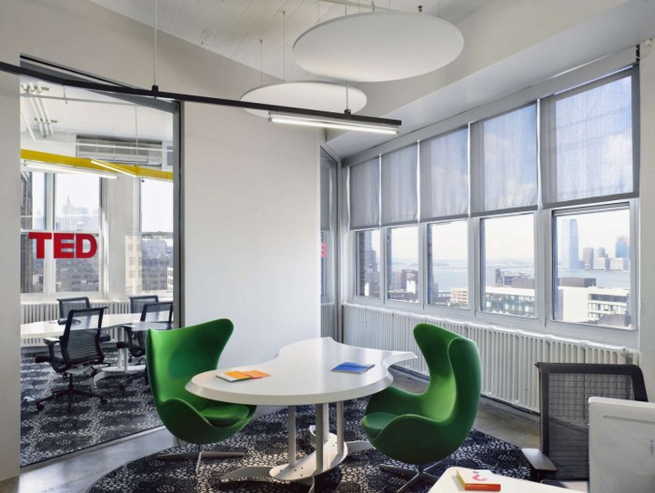 TED Conferences office by Tina Manis Associates Newy York City 04 TED Conferences office by Tina Manis Associates, New York City