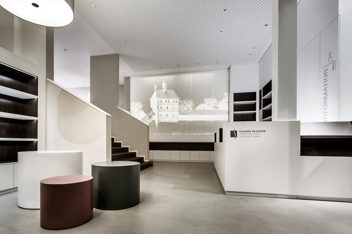 Architekten Esslingen tourist information office by dia dittel architekten esslingen