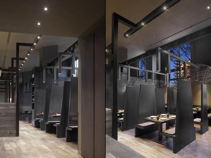 Umo japanese restaurant at hotel catalonia by estudi josep - Restaurante umo barcelona ...