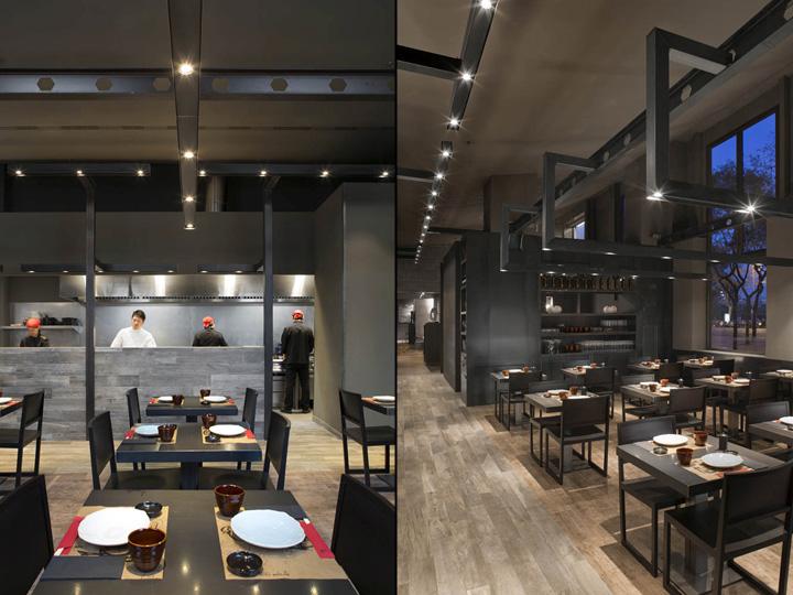 Umo japanese restaurant at hotel catalonia by estudi josep - Restaurante tokyo barcelona ...