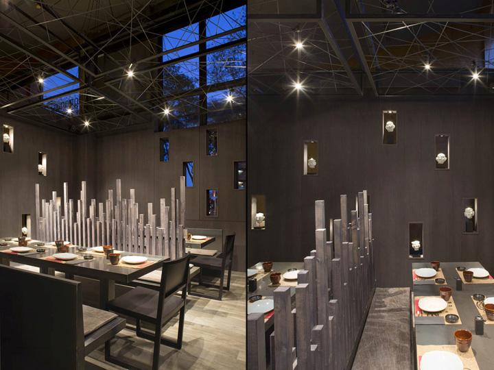 Umo japanese restaurant at hotel catalonia by estudi josep - Restaurant umo barcelona ...