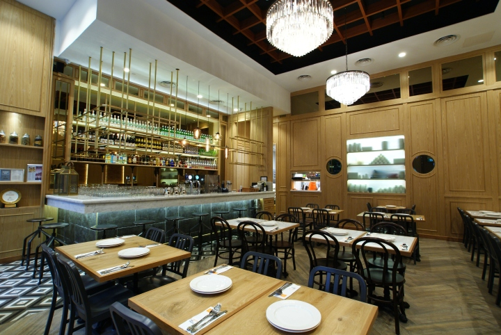 Restaurant Design Singapore : Zaffron kitchen restaurant by jp concept singapore