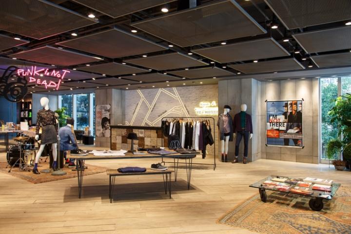 Agn S B Rue De Marseille Store Hong Kong Retail Design