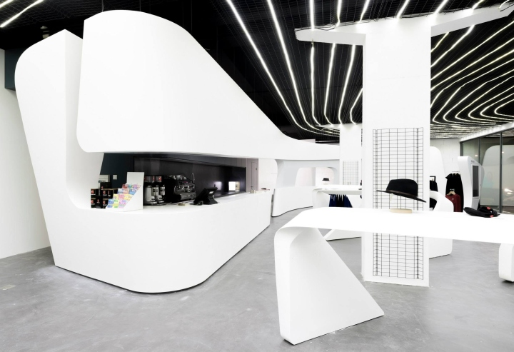 Flagship Boutique By Zaha Hadid Architects