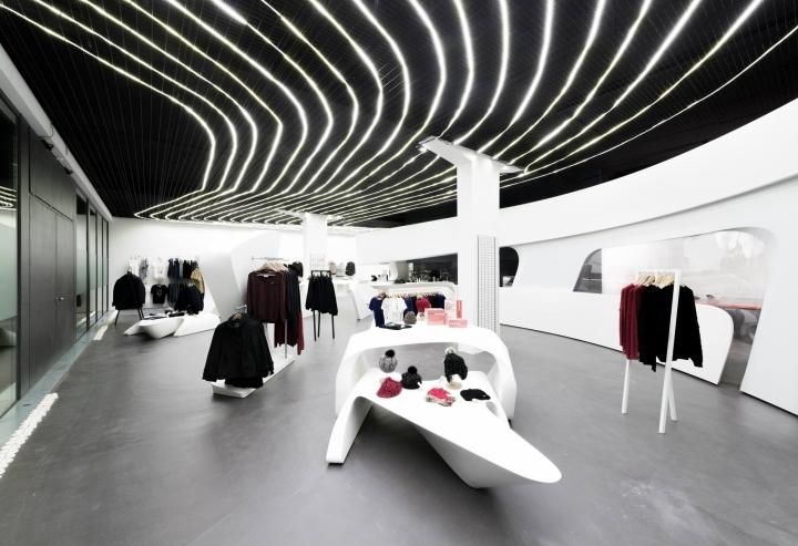187 Heidi Com Flagship Boutique By Zaha Hadid Architects