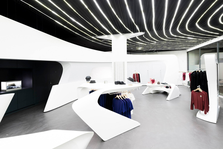 Heidi.com Flagship Boutique By Zaha Hadid Architects, Neuchâtel U2013  Switzerland