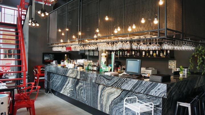2 for bistro bar restaurant by mada bangkok thailand - Decorar un bar de tapas ...