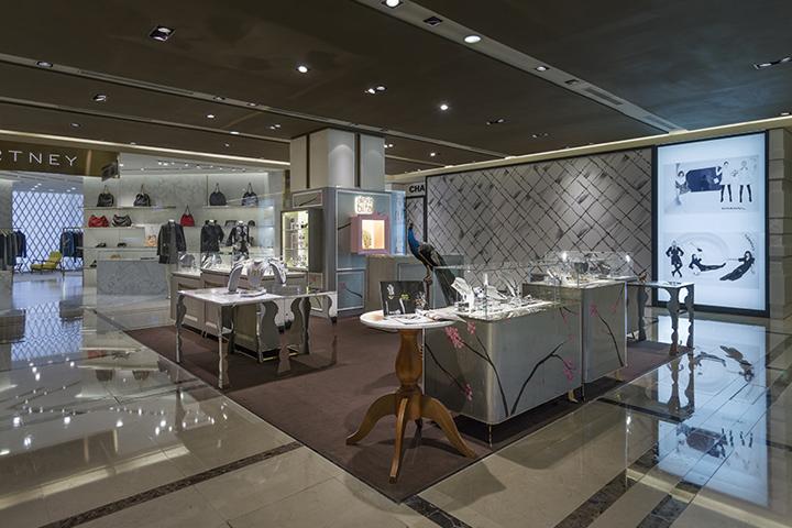 Alexis Bittar store by KC design studio Taipei Taiwan Retail