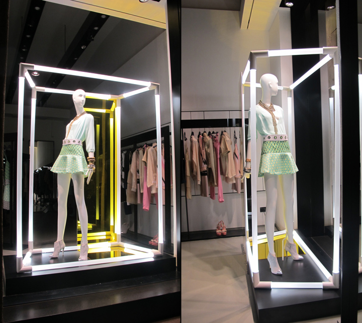 Annarita N window display by ARTE VETRINA PROJECT, Milan ...