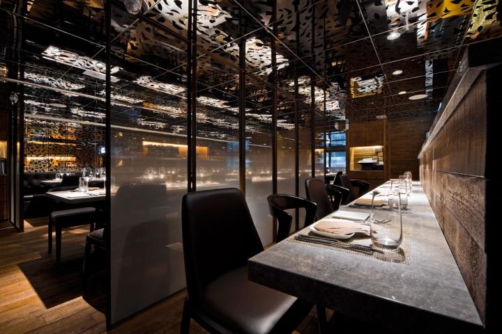 Atlantis Blue Seafood Restaurant By Panorama Hong Kong Retail Design Blog