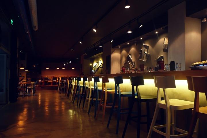 Backstage Caf 233 Bar By Think Forward Burgas Bulgaria 187 Retail Design Blog