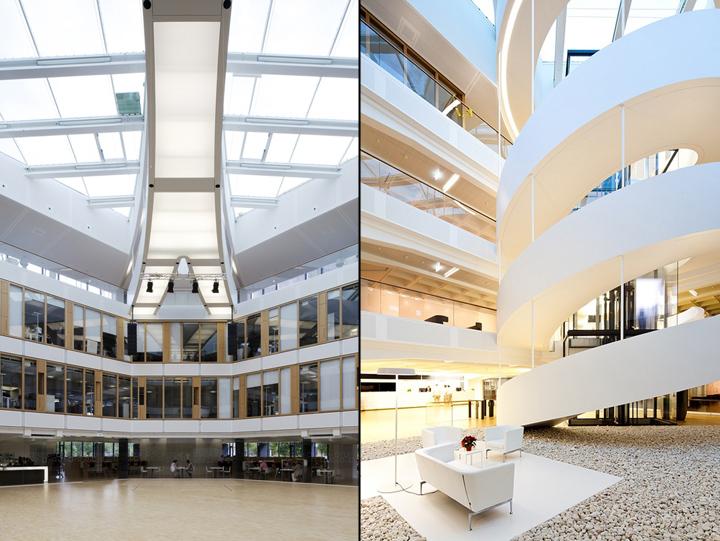 Bgv office by design2sense karlsruhe germany retail for Design hotel karlsruhe