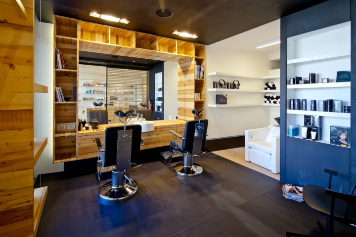 Kids Bathroom Designs Pictures: Modern Barber Shop Interior Layout
