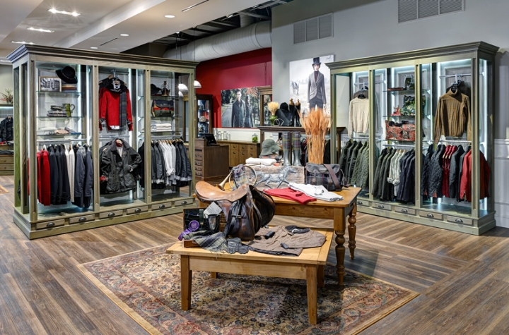 Barbour Store By Rgla Solutions Chicago Illinois