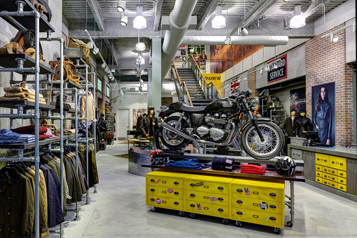 Motorcycle retail design blog for Electric motor rebuild shop near me