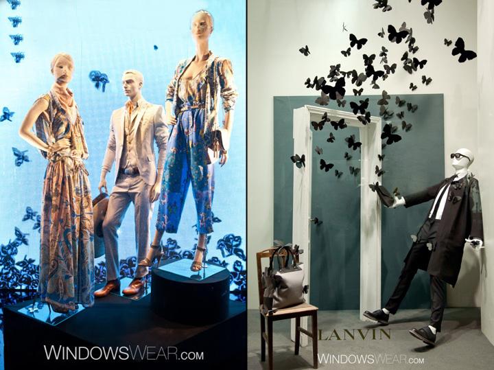 187 Butterfly Fashion Window Design Trend Worldwide