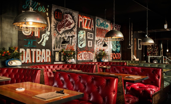 Datbar bar restaurant by dirty hands newcastle uk
