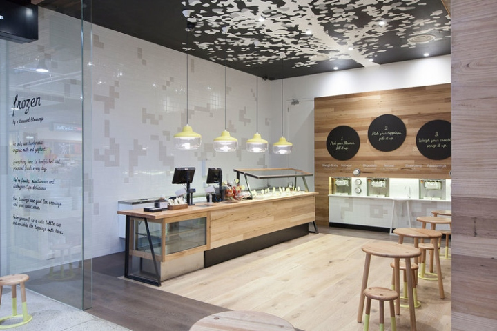 Ice cream retail design blog Bless home furniture outlet