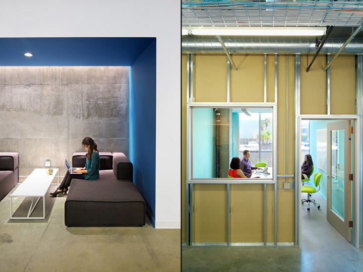 Funny or die office by clive wilkinson architects los angeles