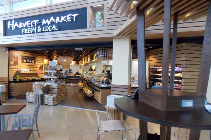 harvest market by redesign group calais france retail design blog. Black Bedroom Furniture Sets. Home Design Ideas