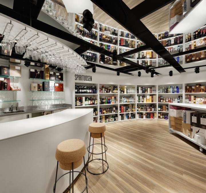 Jelmoli department store by schweitzer group zurich for Store building design